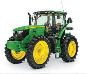 6155RH Hi-Crop Utility Tractor