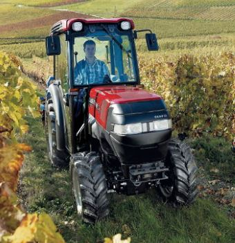 Case Compact Farmall 105V Tractors