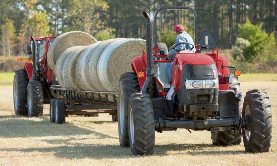 Case Compact Farmall 120A Tractors