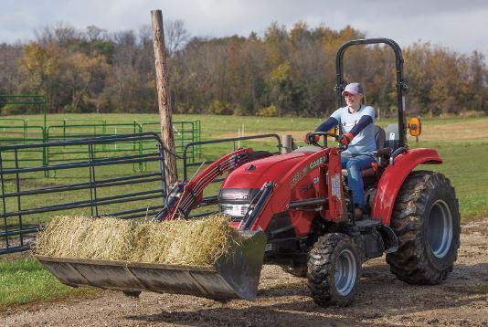 Case Compact Farmall 35C Tractors