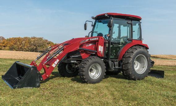 Case Compact Farmall 55C Tractors