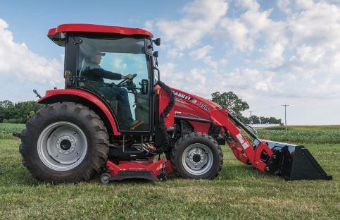 Case Compact Farmall 55CVT Tractors