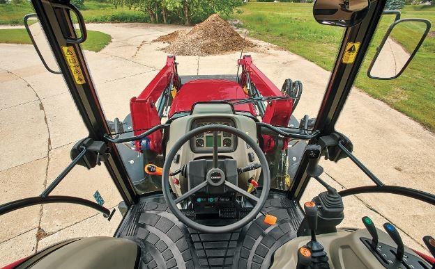 Case Compact Farmall Utility 55A Tractors