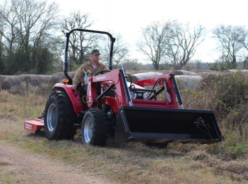 Mahindra 2545 4WD Shuttle Tractors