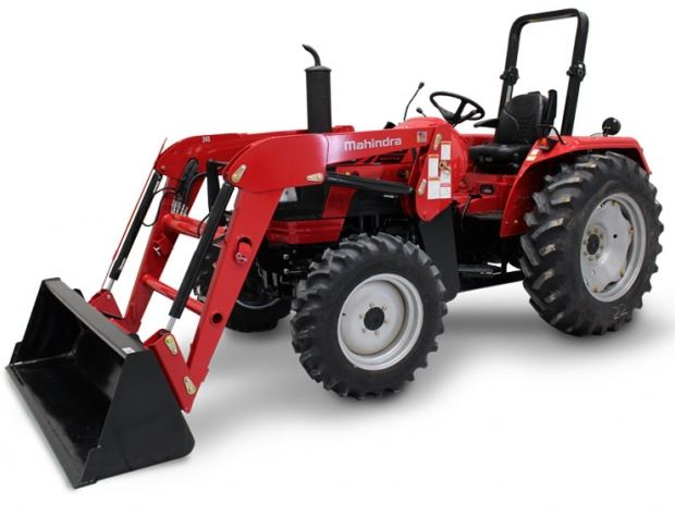 Mahindra 5545 4WD Shuttle Tractors