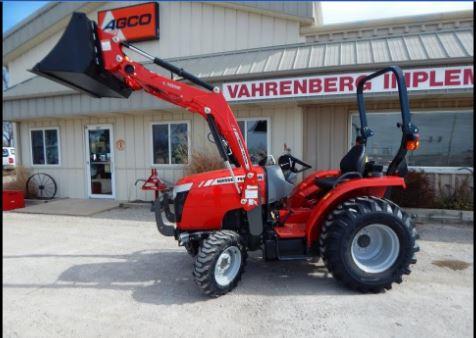 Massey Ferguson 1734E Economy Compact Tractor