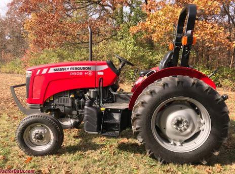 Massey Ferguson 2605H Utility Tractor