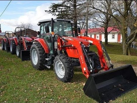 Massey Ferguson 4607M Utility Tractor