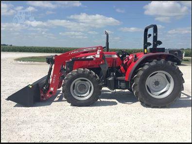 Massey Ferguson 4709 Series Tractor