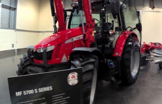 Massey Ferguson 5711S Series Mid-Range Tractor