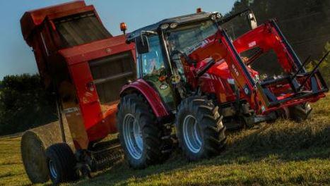 Massey Ferguson 5713SL Series Mid-Range Tractor