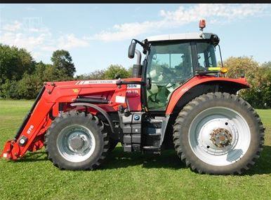 Massey Ferguson 7619 Series Row Crop Tractor