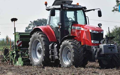 Massey Ferguson 7720 Series Row Crop Tractor
