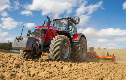 Massey Ferguson 8735S Series Row Crop Tractor