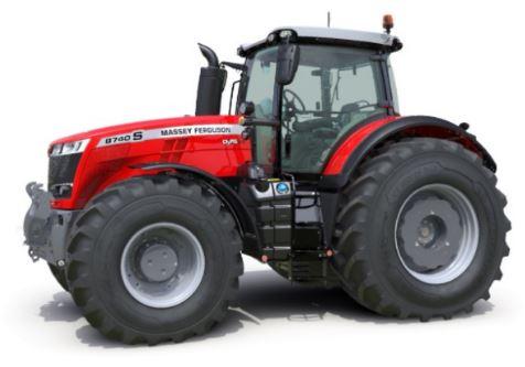 Massey Ferguson 8737S Series Row Crop Tractor