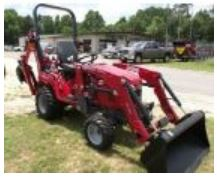 Massey Ferguson MFGC1723EB Sub Compact Tractor