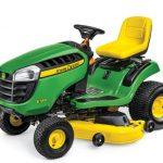 John Deere E140 Lawn Tractor