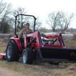 Mahindra 2545 4WD Shuttle Tractor