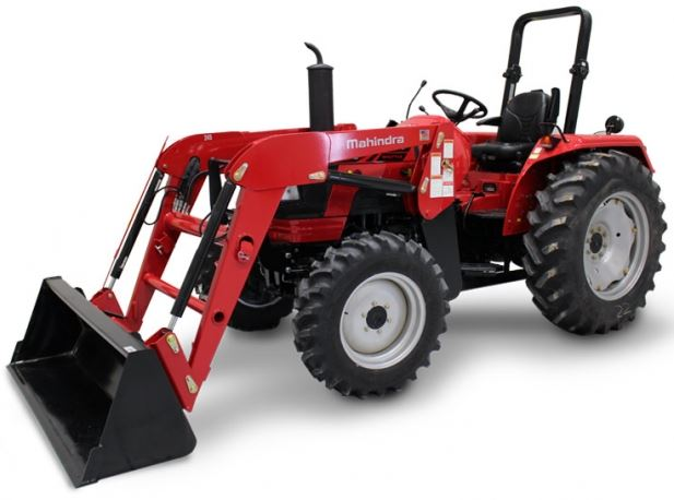 Mahindra 5545 4WD Shuttle Tractor