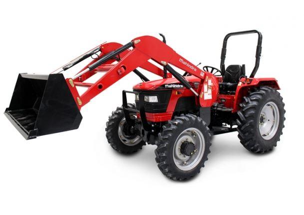 Mahindra 5570 4WD Shuttle Tractor