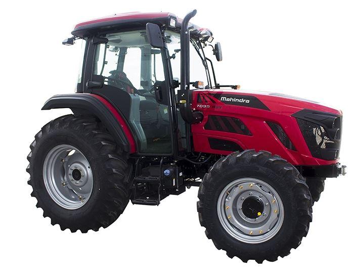 Mahindra 7095 4WD Cab Tractor