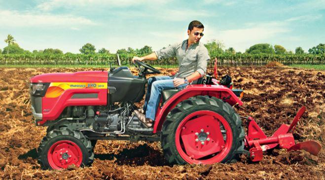 Mahindra JIVO 245 DI 4WD Tractor