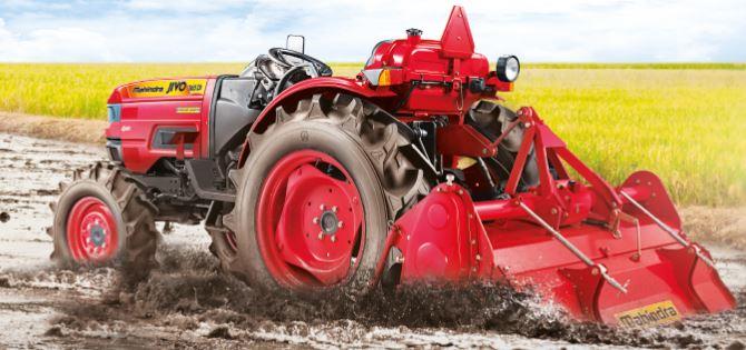 Mahindra Jivo 365 DI 4WD Tractor