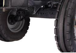 Adjustable Front Axle (Optional)