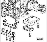 Drawbar lowering kit