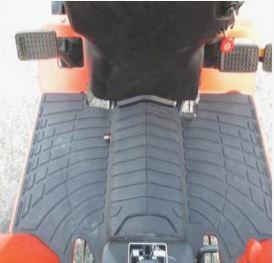 Flat Deck with Floor Mat