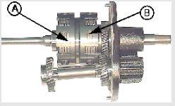 Forward/reverse clutches
