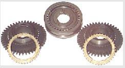 Helical-cut gears