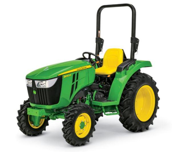 John Deere 3043D Compact Tractor