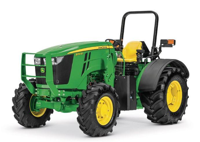 John Deere 5090EL Low-Profile Utility Tractor