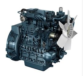 Powerful Direct Injection Diesel Engine