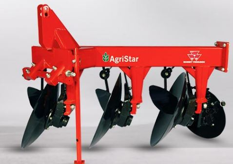 Disc Plough 3 FURROW