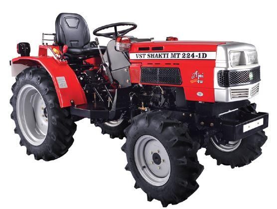 VST Shakti MT 224 1D AJAI 4WB - Tractor