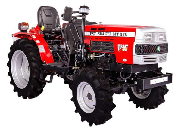 VST Shakti MT 270 VIRAAT 4W - Tractor