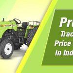 preet tractor price list