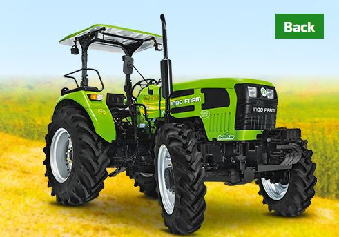 INDO FARM 3055 DI 4 CYL, 60 HP