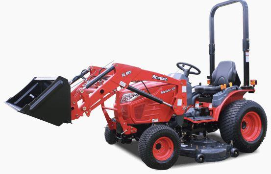 branson 2505h tractor specs