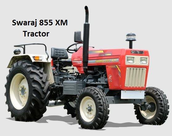 Swaraj 855 XM Tractor Price in India 2020