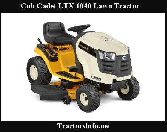 Cub Cadet LTX 1040 Price, Specs, Review & Attachments
