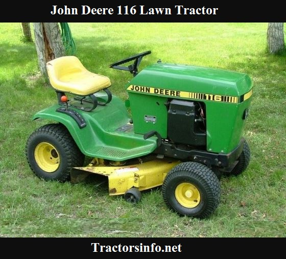 John Deere 116 Price, Specs, Review & Attachments