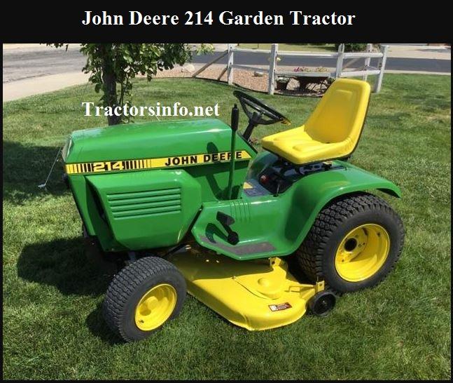 John Deere 214 Price, Specs, Reviews & Attachments