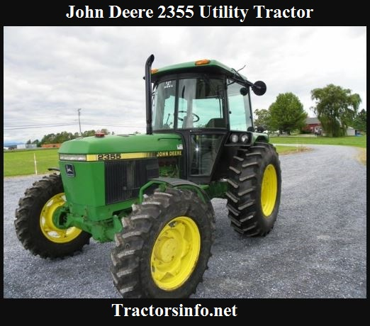 John Deere 2355 Utility Tractor Price, Specs, Review & Attachments