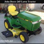 John Deere 265 Lawn Tractor Price, Specs, Reviews