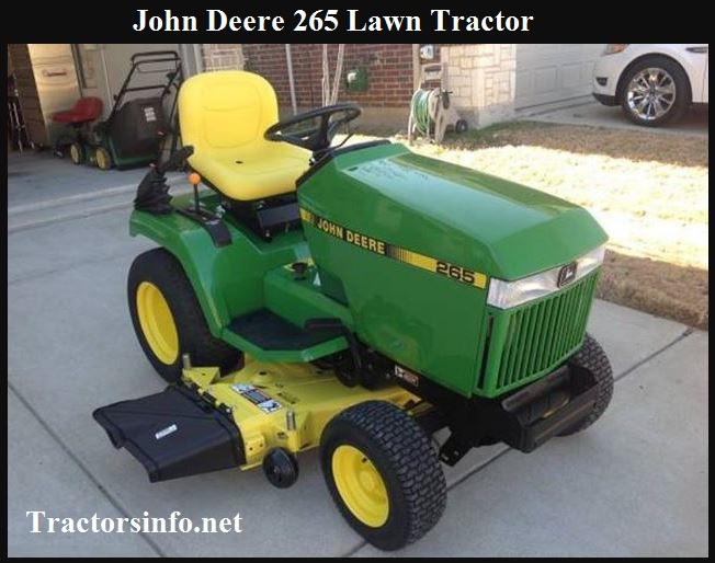 John Deere 265 Lawn Tractor Price, Specs, Reviews