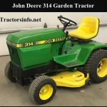 John Deere 314 Price, Parts Specs, Review