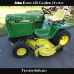 John Deere 420 Garden Tractor Price, Specs, Review & Attachments